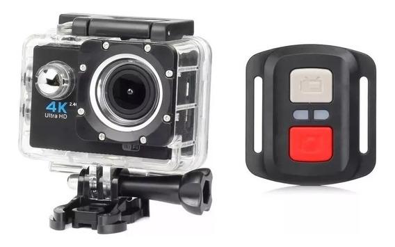 Câmera Go Pró Esport 4k Controle Remoto Cartão Memoria 32gb