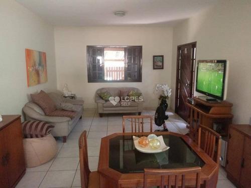 Imagem 1 de 18 de Casa Com 4 Dormitórios À Venda, 246 M² Por R$ 600.000,00 - Itaipu - Niterói/rj - Ca15747