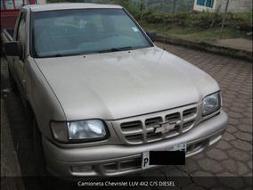 Camioneta Chevrolet Luv 4x2 C/s Diesel