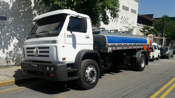 Vw 17.180 Toco Ano 2006 Tanque Combustivel 9.000 Litros