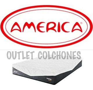 Colchón Individual América Intense Memory