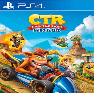 Crash Team Racing Nitro Fueled Ps4 / 1 / Oficial Garantia