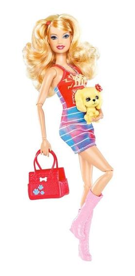 Boneca Barbie® Fashionistas Summer E Cachorro 2012 - Rara