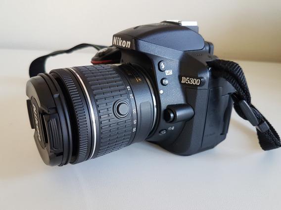Câmera Nikon D5300 Full Hd Kit 18-55mm