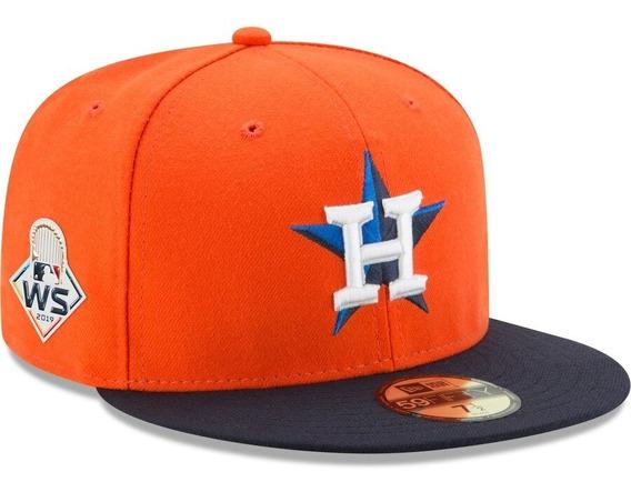 Gorra New Era Houston Astros Serie Mundial 2019 Naranja