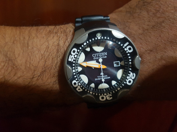 Relógio Citizen Eco Drive Orca(titânio)
