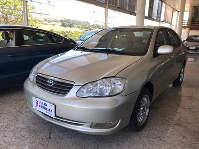 Toyota Corolla 1.8 Xei Automático Gasolina Dourado