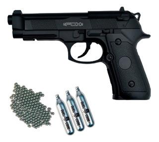 Pistola Aire Comprimido Fox Co2 Replica Beretta 92