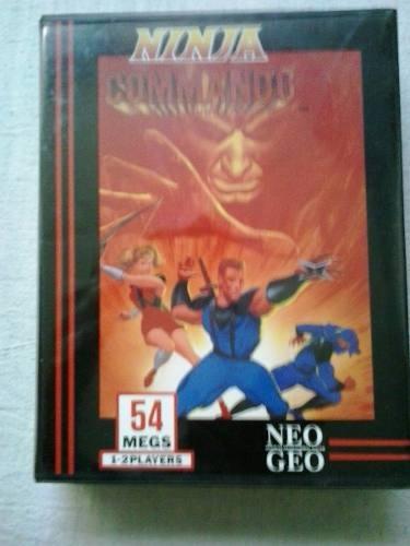 Ninja Commando Cartucho Jogo Neo Geo Snk Jogo Neo Geo Snk