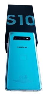 Samsung Galaxy S10 Dual Sim 128 Gb Sm-g973f/ds Prism Green