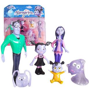 Vampirina Figuras Juguete X6 Muñecas Jugueteria Coleccion