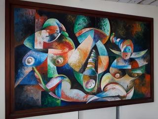 Pintura Del Maestro Hernando Morales Originales En Oleo.