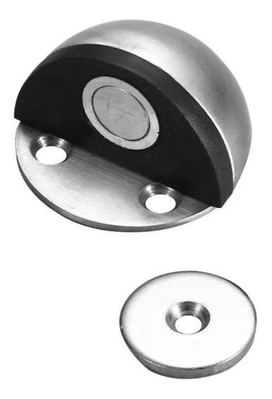 Traba Tope Magnetico Acero Inoxidable Puertas Gd-02m {chico}