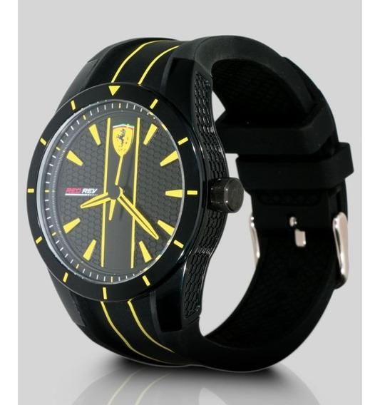 Relógio Analógico Ferrari Redrev Masculino - Original.