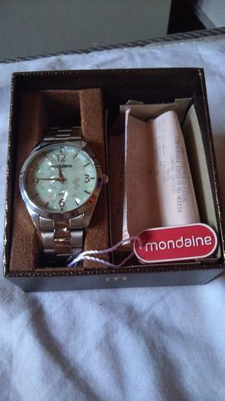 Kit Relógio Mondaine Feminino Sistema Analógica