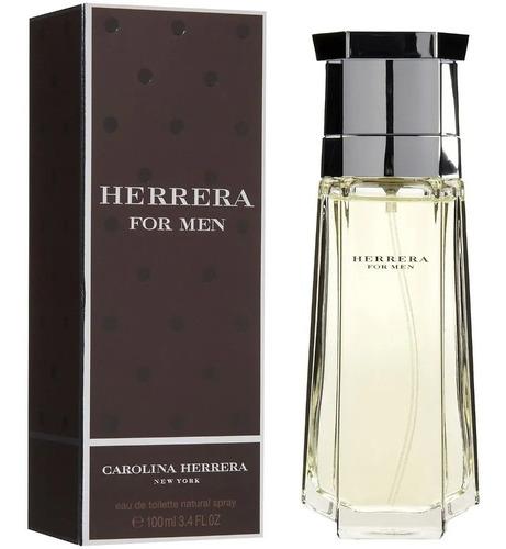 Perfume Import Herrera For Men 100ml Exquisito Clasico !