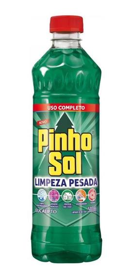 Limpador Diluível Pinho Sol Limpeza Pesada Eucalipto 500ml