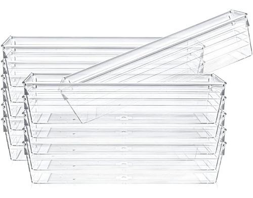 Imagen 1 de 2 de  Set X2 Bandejas Organizadora Cajones Plástico Cocina Hogar