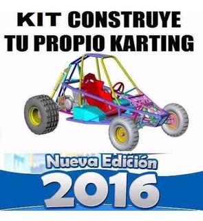 Go Kart Arenero Paso A Paso Construye Carro Buggy Nuevo Kit