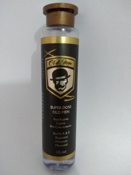 Kit 3 Fortificante Barba Super Dose Old Men 15ml