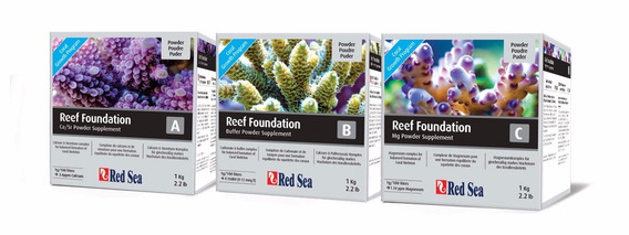 Combo Reef Foundation 1 Kg Red Sea Care Program