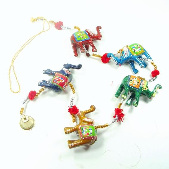 Tiras De Elefante Hindú De Resina