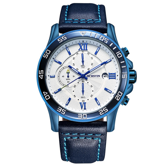 Reloj Ochstin Superior Lujo Militar Blue
