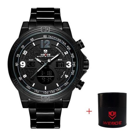 Relógio Masculino Digital E Analógico Esportivo Original