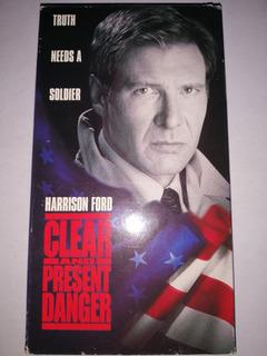 Clear Present Danger Harrison Ford Vhs En Ingles 1994 Mdisk
