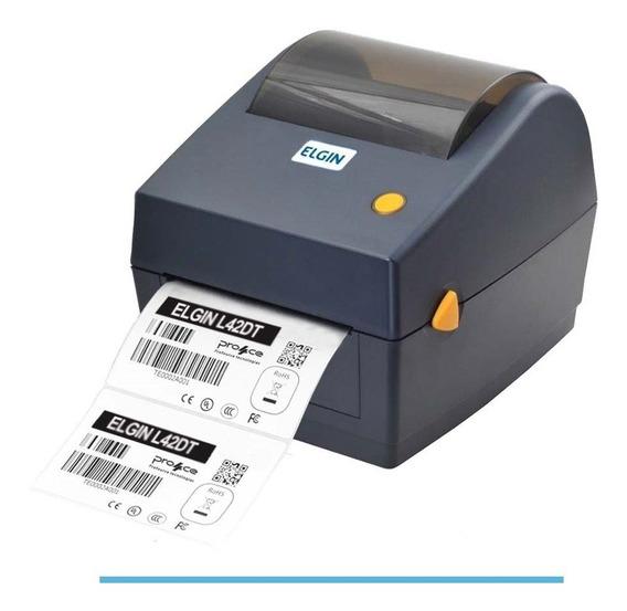 Impressora Elgin Código De Barras Térmica L42 Dt Sem Ribbon