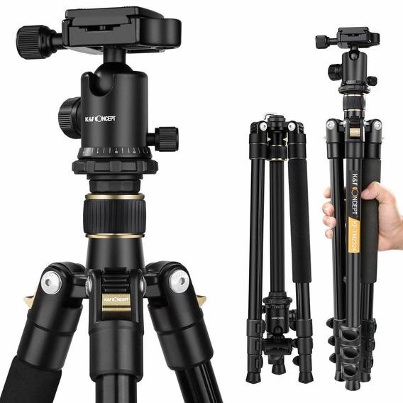 K&f Concept Tm2324 62-inch Professional Slr Camera TriPod Wi