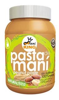 Crema De Maní King 12 Unidades 485gr - Libre De Gluten 100%