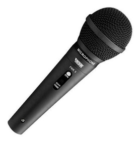 Microfone Dinamico Com Fio Profissional Novik Neo Fnk 5