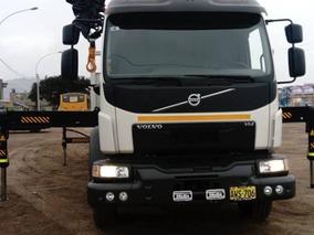 Camion Volvo Con Grua Hidraulica Hiab Xs422