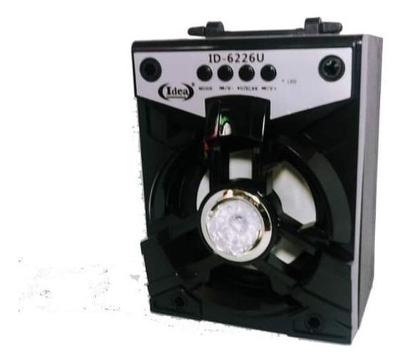 Caixa De Som Portátil Bluetooth Rádio Fm Usb Micro Sd 8w
