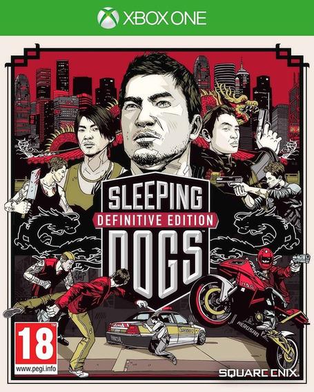 Sleeping Dogs:definitive Edition Xone Físico Usado Excelente