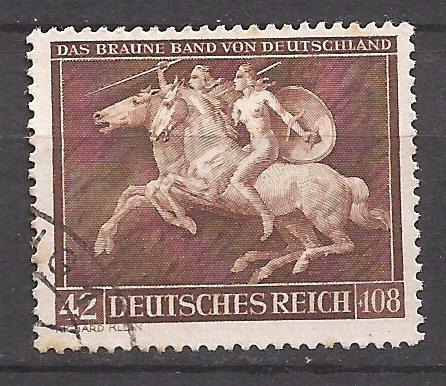 2° Guerra Alemania 1941 Sello Amazonas Usado - 6 U$d