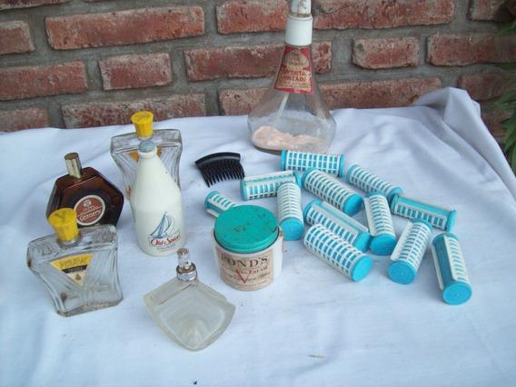 Lote De Productos Vintage De Tocador