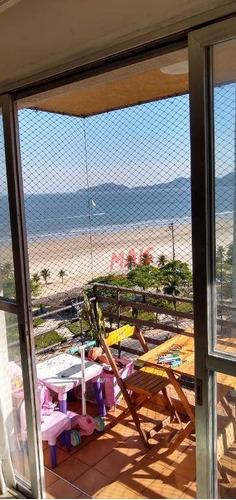 Frente À Praia, Sacada, 2 Dormitórios - Ap5861
