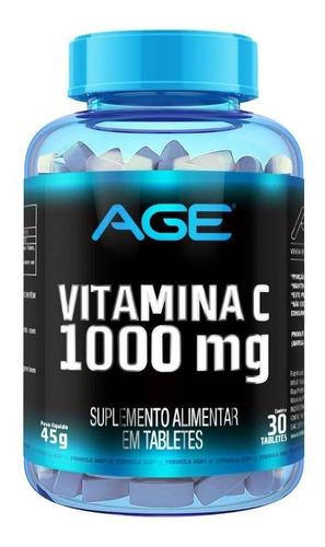 Vitamina C 30 Tabletes Age