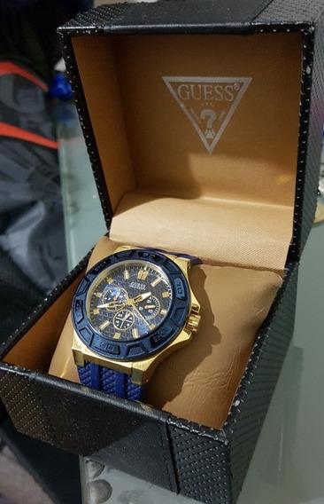 Reloj Guess Hombre Azul W0247