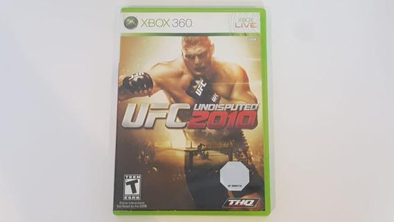 Ufc Undisputed 2010 - Xbox 360 - Original - Mídia Física