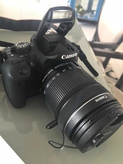 Câmera Fotográfica Canon T5i Com Lente 18-135 Novíssima