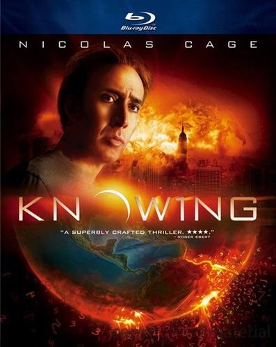 Blu-ray Cuenta Regresiva Knowing Alex Proyas Nicholas Cage