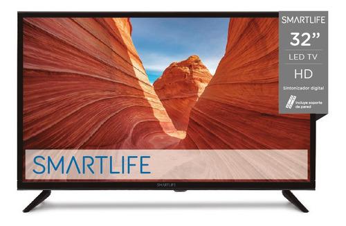 Tv Led Smartlife Sl-tv32ldbhd 32'' Con Soporte De Pared