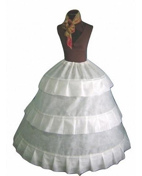 Miriñaque, Enagua Con 3 Aros Armada Para Vestidos,15, Novias