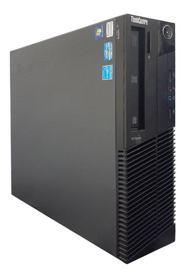 Computador Lenovo M91 Core I5 4gb Ddr3 Ssd 120gb Dvd Wifi