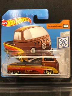 Hot Wheels Volkswagen T2 Pickup Marrom 2019 Kombi