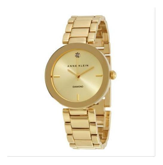Relógio Anne Klein Ak/1362-relógio Com Diamante Caixa 32mm