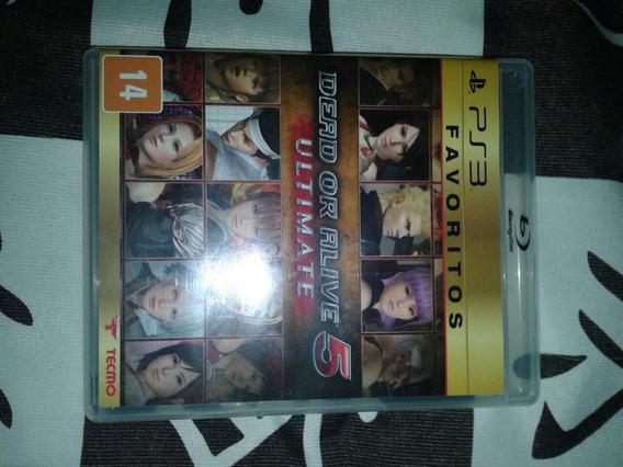 Dead Or Alive 5 Ultimate - Mídia Física - Playstation 3